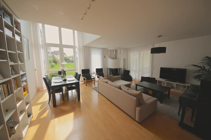 Luxury Apartment in green central Göttingen area
