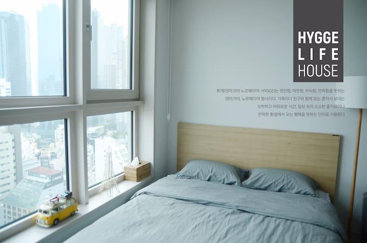 New!! Haeundae Ocean view 'Hygge Life House'