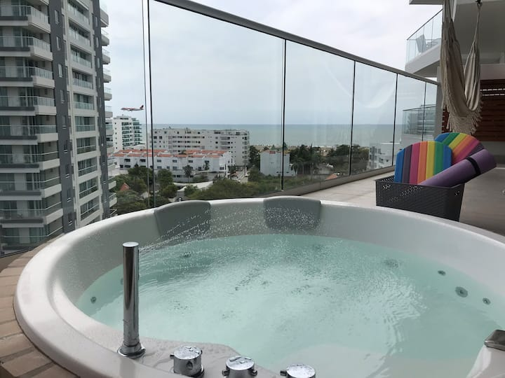 Amazing View Prívate Jacuzzi / Cielo Mar Relax