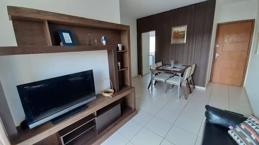 Apartamento confortável e espaçoso.