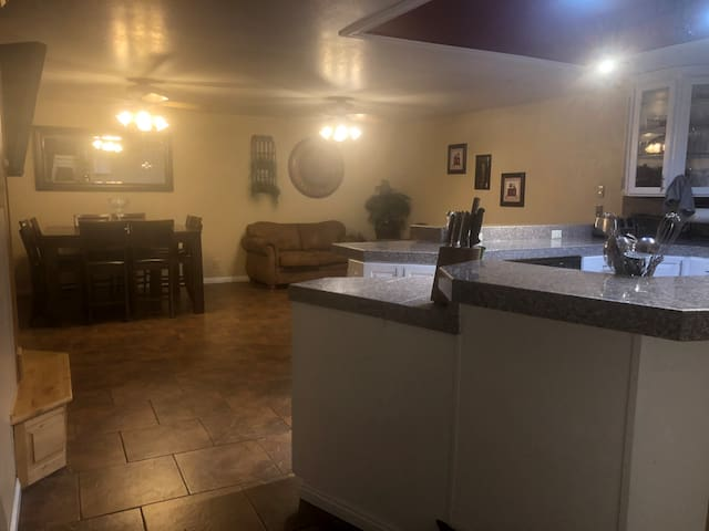 Kitchen/Dining/Family Room  (Great Room)
