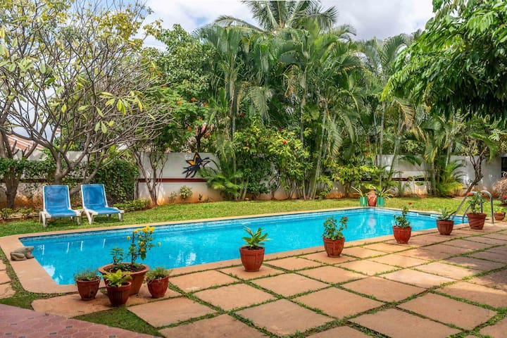 Firefly Homestay+ 2BR w/ PoolLawn@ Bangalore