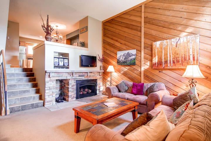 Cedars 23 townhouses in affitto a breckenridge colorado for Affitto cabina breckenridge co