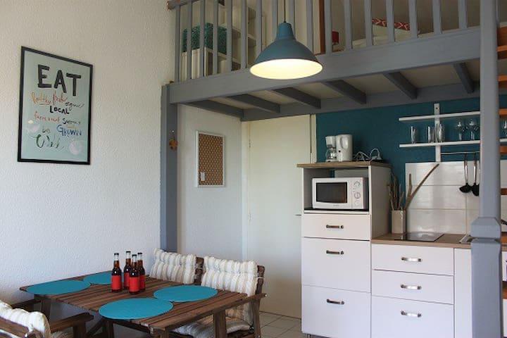 vacances au calme au centre de la cotinière - Saint-Pierre-d'Oléron - Apartment