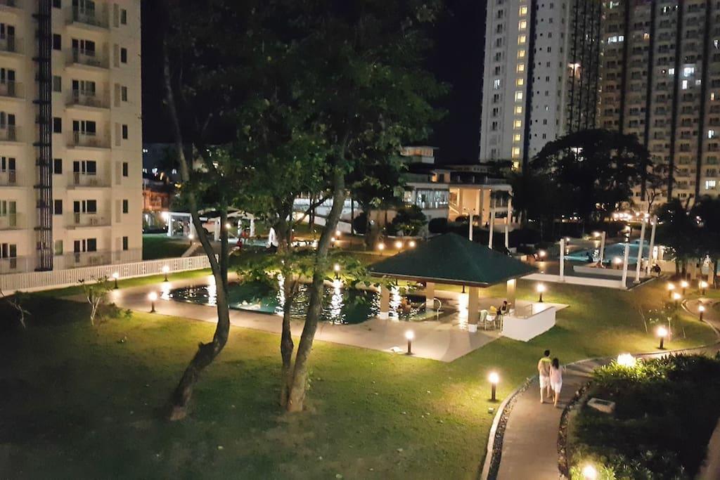1 bedroom safe cozy secure 7th floor for Terrace 45 quezon city