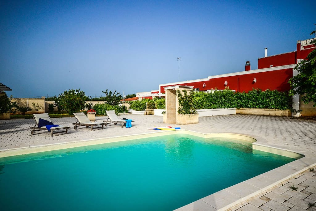 Nearco Apartment In Apulian Masseria With Pool
