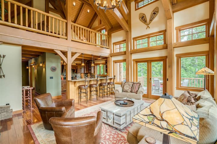 *New Listing* Exceptional Home on the Wenatchee River