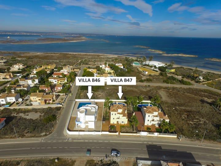 Espectaculares villas con piscina  (31 personas)