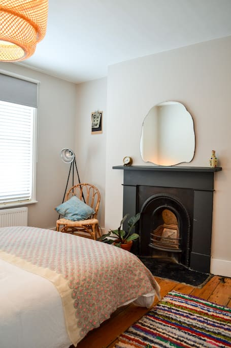 Orginal feature Victorian fireplace