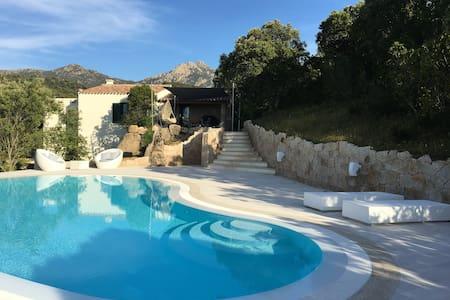 Villa mit Infinity Pool - Biasì - Hus