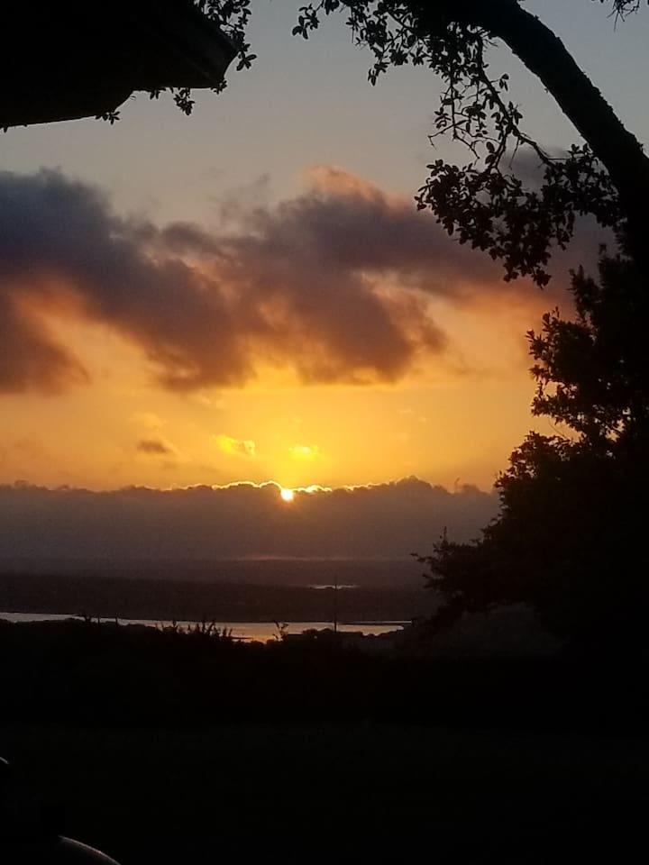 Our beautiful sun rises!