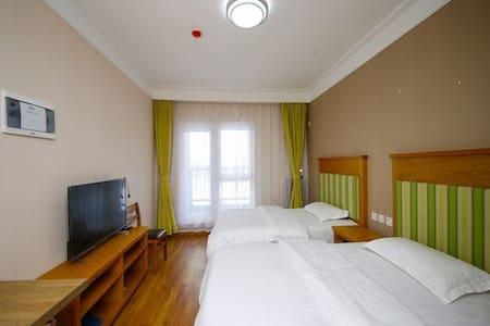 吉林市万科松花湖青山滑雪场家庭式公寓 - Jilin
