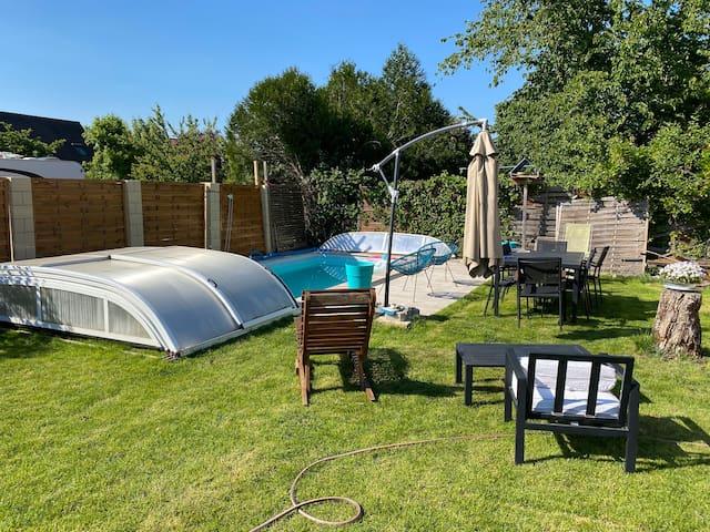 chambre chez l'habitant avec piscine couverte I