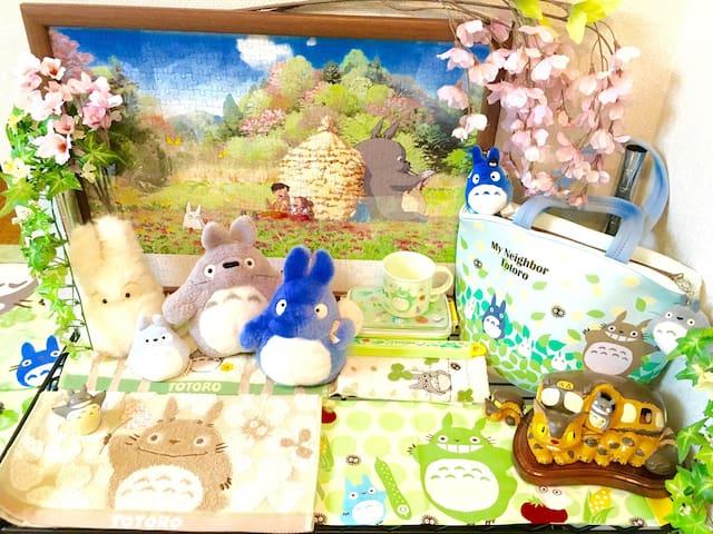 KYOTO GION☆2min Subway☆桜TOTORO ROOM^_^Pocket Wi-Fi