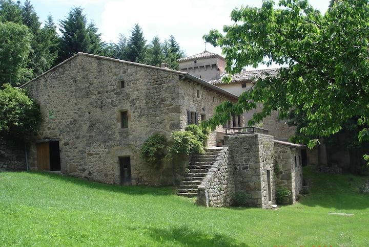 Ancienne bergerie avec terrasse, vue magnifique