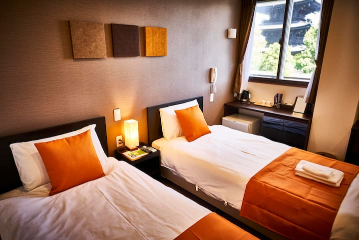#View3 Central Kyoto,5min walk to Sta!! Free WiFi