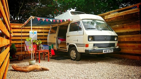 """Westy"" the 1985 VW T3 Westfalia Camper"