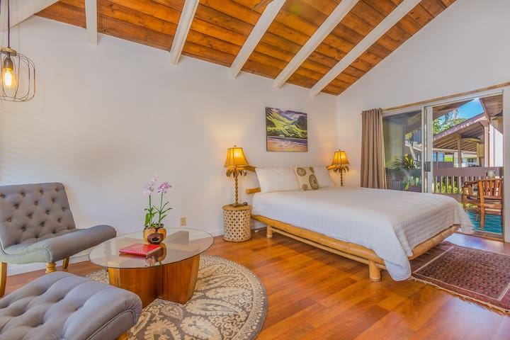 Cool Newly Renovated Studio! 10 Minutes to Hanalei