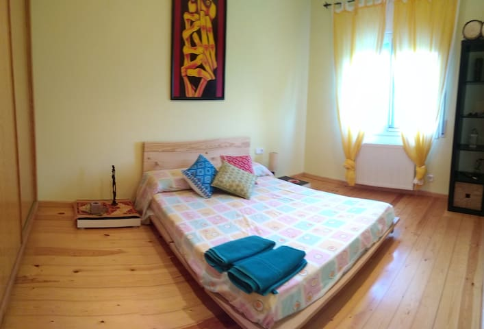 Private double room N close to the beach