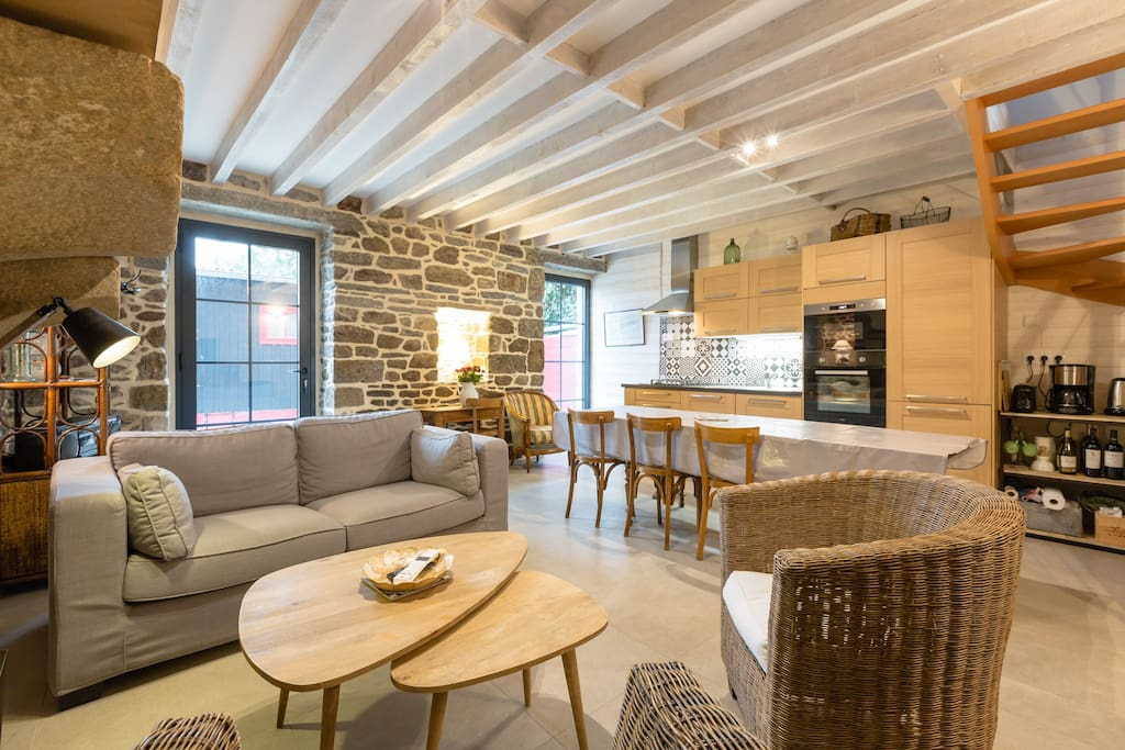 l 39 abbaye house 4 saint malo h user zur miete in saint. Black Bedroom Furniture Sets. Home Design Ideas
