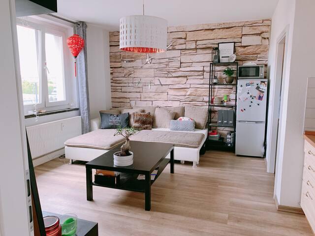 Helle 2 Zimmer Wohnung im Herzen von Dresden