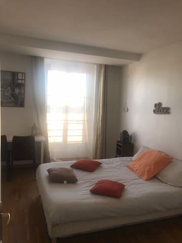 Appartement tout confort à 20 minutes de Paris