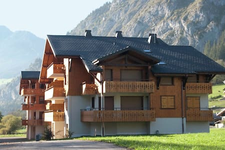 Spacious, modern apartment with sunny balcony in the heart of les Portes du Soleil
