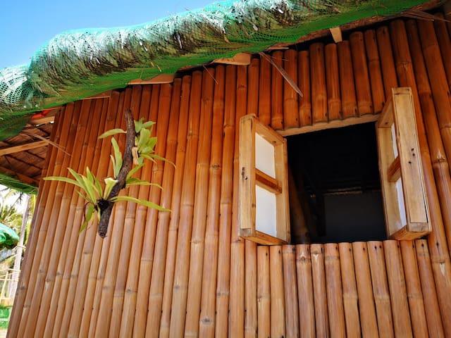 Beachfront Bamboo Hut 2