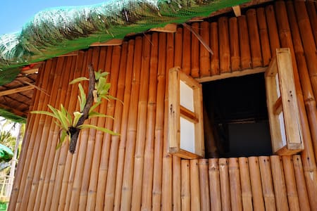 Beachfront Bamboo Hut 2