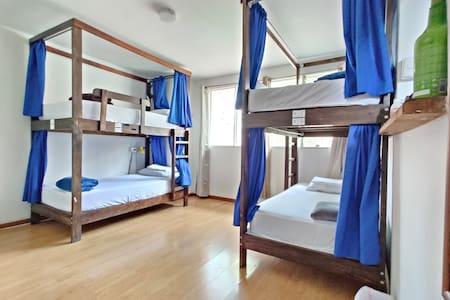 Deluxe Bed in 6-Bed Dorm