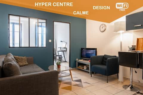 Perfectly Located Quiet WIFI Tarbes City Centre