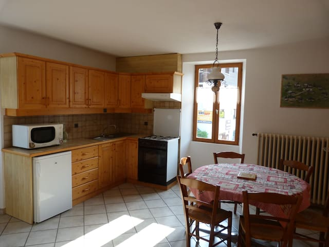 Appartement au coeur du village d'Arêches - Beaufort - อพาร์ทเมนท์