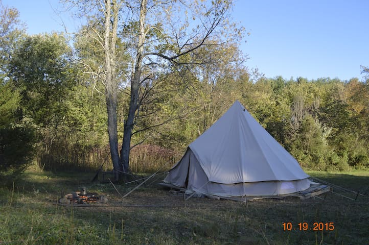 Sibley Tent - On Decking Camping ! - Sharpsburg