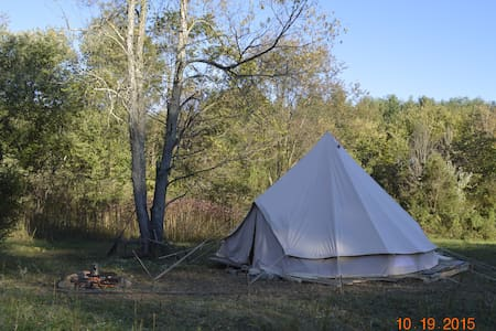 Sibley Tent - On Decking Camping ! - Sharpsburg - Tenda