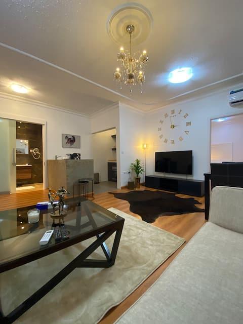 شقة جاكوزي راقية مدخل خاص ودخول ذاتي عزاب عوائل
