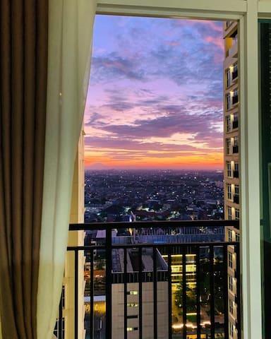 SunsetView,StudioPuriOrchard Apartment,WestJakarta