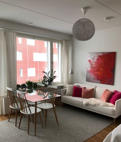 The cutest little apartment in Herttoniemi