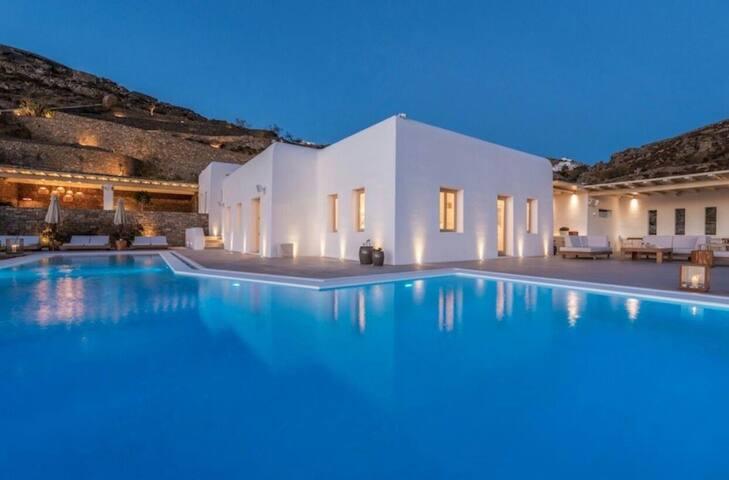 Villa at Fanari, Mykonos villas****