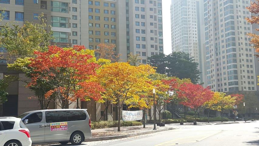 鲜文大学附近舒适居家 천안아산역 근처 내집 같은 집 - 아산시, 충청남도, KR - Appartement