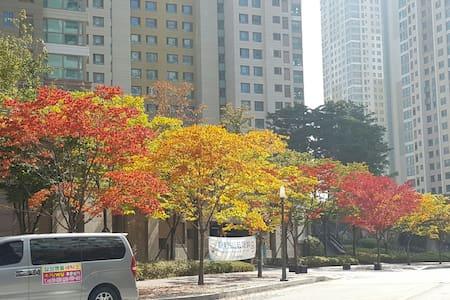 鲜文大学附近舒适居家 천안아산역 근처 내집 같은 집 - 아산시, 충청남도, KR