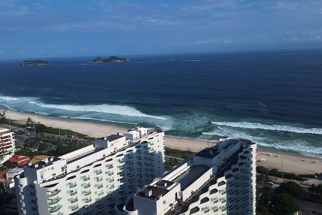 Praia da Barra da tijuca - Posto 4