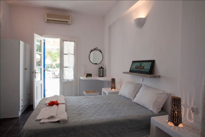 Studio with wonderful sea view - Aliki - Apartament