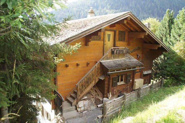 Grimentz | Chalet l'Aiglon à vue