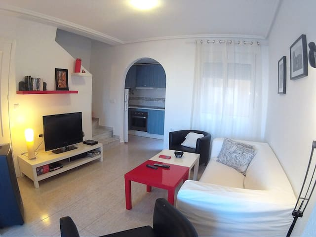 WI-FI TOWNHOUSE at 5´from the BEACH - Gran Alacant - Apartament