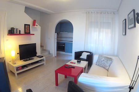 WI-FI TOWNHOUSE at 5´from the BEACH - Gran Alacant