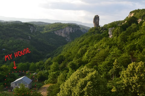 Katskhi pillar, Chiatura, lika's sweet house