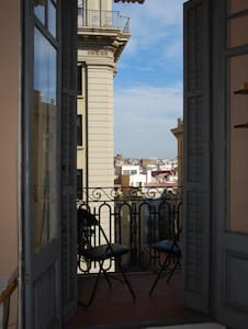 Lovely twin room in central flat - Barcelona - Apartment