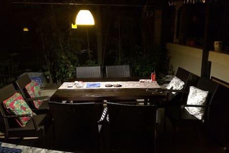 旌湖为邻,院子里的生活 - Deyang - Apartament