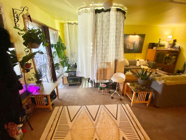 Colorful & Cozy Spacious room w/ a Private Bath!