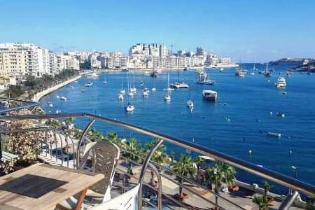 Seafront beautiful 3 BDR apartment - Tas-Sliema